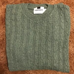 Topman cable-knit sweater. X-small. NEW